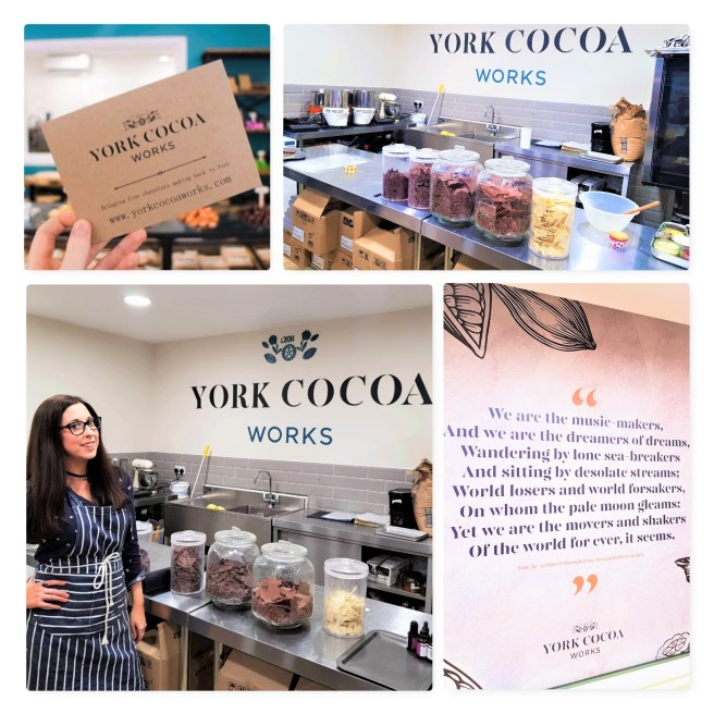 York Cocoa Works Chcolate Tour & Chocolate Bar making 2a